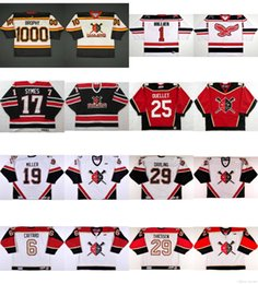 Wholesale M Wheels - custom Personalized ECHL Wheeling Nailers Jersey 17 Brad Symes 1 Craig Hillier 25 Michel Ouellet Ice Hockey Cheap Jerseys Customized Goalit