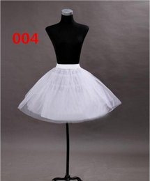 Wholesale Hoop Petticoat For Girls - Stock Cheap Petticoat For Little Girl Dress Flower Girls Dress Unkiderskirt Little Girls' Petticoat Hoops Free Shipping