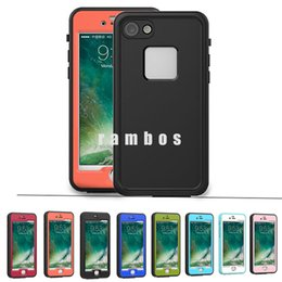 Wholesale Case For Iphon - IP68 Waterproof Phone Case Dust Shock Proof Underwater Ultra Slim Case Cover for iphon 7 DHL Free