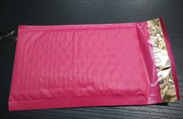 Wholesale Sealed Envelopes - Pink 7.3X9inch   185X230+40MM Usable space Poly Mailer envelopes padded Mailing Bag Self Sealing