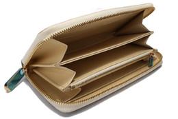 Wholesale Long Purse Zipper - Genuine Leather 2016 Famous Brand Business Men Long Zipper Wallet Purse Male High Capacity multi-card Clutch Bag Black Wallets with box
