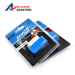 Wholesale Volvo Fuel - 2016 EcoOBD2 Diesel Car Chip Tuning Box Plug and Drive OBD2 Chip Tuning Box Lower Fuel and Lower Emission Free Shipping