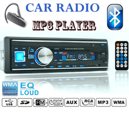 Wholesale Mazda Bluetooth Audio - Wholesale-New 12V Car Stereo FM Radio MP3 Audio Player Support Bluetooth Phone with USB SD MMC Chevrolet  vw Mazda Car Radio FM MP3 player