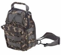 Wholesale Tactical Molle Assault Backpack - Wholesale-Molle Outdoor Rucksack Tactical Messenger Assault Sling Shoulder Bag Backpack Sports Chest Bag