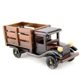 Wholesale Model Car Kits Children - Model Car Kit Classical Wooden Diecast Car For Children Or Family Decoration Of Big Truck In Chines Style