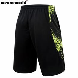 Wholesale Short Sport Men Nylon - Wholesale-WEONEWORLD Brand Fashion 2016 Summer Sport Gym Basketball Homme Bermuda Men Short Loose Running Men's Shorts Plus Size 3XL