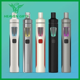 Wholesale E Liquid Atomizers - Joyetech EGo AIO Quick Start Kit with With 1500mAh Battery BF SS316 Coil 2ml Capacity e-Liquid Tank Atomizer All-in-one Style Device