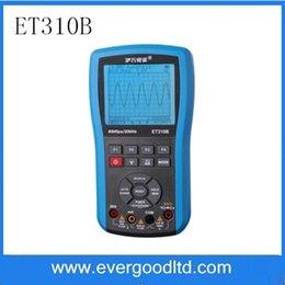 Wholesale Handheld Digital Multimeter Oscilloscope - Wholesale-ET310B Wireless Bluetooth Scope Meter 20MHz Handheld Oscilloscope True RMS Digital Multimeter