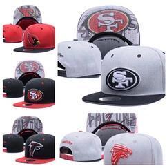 Wholesale Popular Football - wholesale 2017 new Football Snapbacks Cheap Sports Team Caps High Quality bone Snap Backs Girls and Boys Hats Most Popular Team Flat Hats
