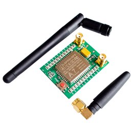 Wholesale Gsm Module Antenna - Wholesale Price A7 GSM GPRS Development Board A7 Adapter Quad-band SMS Voice Data Transfer Antenna Module High Quality