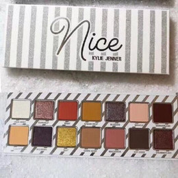 Wholesale Christmas Eyeshadow - NEW Kylie Cosmetics Naughty or Nice Eyeshadow Palette for Christmas gift Choose Your Palette fast shipping