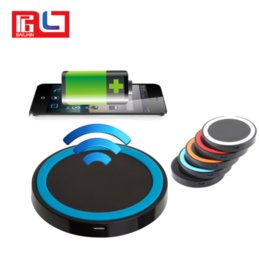 Wholesale Universal Wireless Charging - Newest Qi wireless charging Pad charger with USB port universal battery incharge For Iphone 8 8Plus Samsung S8 Note