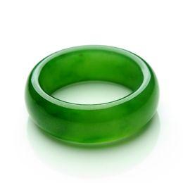 Wholesale Real Jade Rings - The real Russian hetian jade jade ring