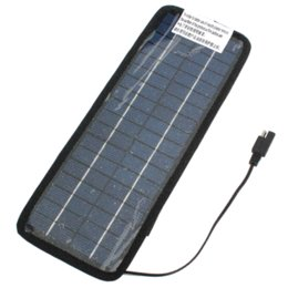Wholesale Solor Chargers - High quality 12V 4.5W Multi-Purpose Solor Battery Charger For Cars Boat Motorcycle Etc Solar Battery Panel With Car Charger