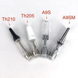 Wholesale Ecig Oils - Th205 Th210 M6T05 CCELL Glass Wax Vaporizer Ceramic Wickless Cartridge 510 o Pen Thick Oil Vape Pen disposable eCig Atomizer .5ml 1ml