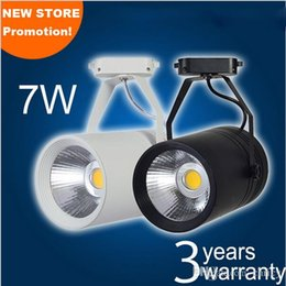 Wholesale Beam Decorations - Super bright LED COB track light 7W 12W 20W 30W AC85-265V led spotlight with 30 beam angle cloth and dispaly store decoration