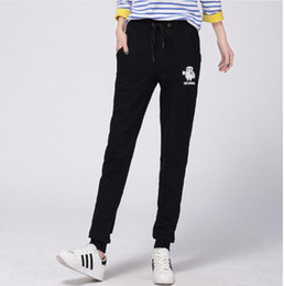 Wholesale Sports Trousers For Women - Spring 2016 sweat pants women Black   grey  Red sports trousers women Hip hop trousers for women Pantalones Joggers