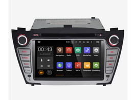 Wholesale Gps For Hyundai - 7'' Quad Core Android 5.1.1 Car DVD Player For Hyundai IX35 Tucson 2010 2011 2012 2013 With Stereo Radio GPS Map
