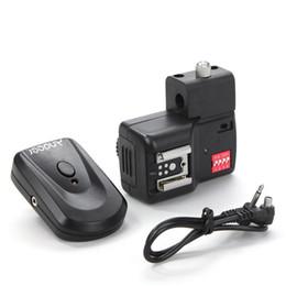 Wholesale Speedlite Umbrella - Andoer 16 Channels Radio Wireless Remote Speedlite Flash Trigger with Umbrella Hole Holder D857