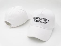 Wholesale Ball America - Election of 2016 hot hat, Lil Wayne make America skate again campaign anti trump, snapback baseball cap Drake dad cap bone 6 god