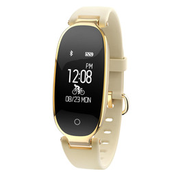 Wholesale Automatic Pressure Monitor - S3 Smart Band Heart Rate Monitor Waterproof Automatic Sleep Detection Remote Camera Sport Recorder Calls Reminder for iOS & Android