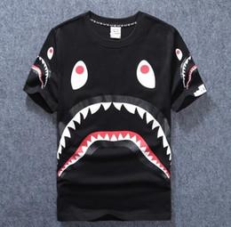 Wholesale Cut Sleeves Shirt - AAPE T Shirts Men Women MIRROR Skateboard Summer Kanye You Cut Me Hip Hop Cotton High Quality Tee Shirt Tops