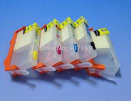 Wholesale Hp Ink Cartridge Hp364 - for HP364 HP178 HP862 Refillable ink Cartridge for HP B110 C309A C309G b109 CN245C CN503C CQ521C B209; 5 colors