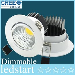 2019 meilleur encastré led CREE Le nouveau Super Bright LED Dimmable Downlight COB 5W 7W 9W 12W led spot encastrable au plafond spot de décoration LED Plafonnier AC85-265V