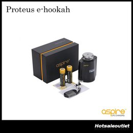 Authentisches Aspire Proteus E-Shisha-Kit mit 18 ml E-Shisha-Tank und austauschbarem 0,16 Ohm Coil Aspire Proteus E-Cig-Kit 100% Original von Fabrikanten