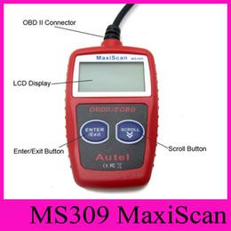 2019 vci tcs Autel MaxiScan MS309 OBD 2 код сканер OBD II EOBD инструмент сканирования автомобиля код читателя Диагностика неисправностей инструмент для обнаружения автомобиля инструмент