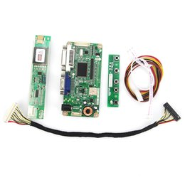 Wholesale Vga Lvds Controller - Wholesale-For LTN170WP-L02 VGA+DVI M.RT2261 LCD LED Controller Driver Board DS Monitor Reuse Laptop 1680x1050