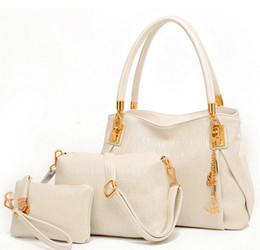 Wholesale Han Bags - Ms han edition 2016 new single shoulder slope across fashion han edition quality printed pu three-piece handbag