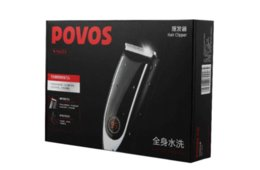Wholesale Hair Clipper Povos - Hair clipper trimmer for Adult washable Electric mute security haircut device Quick charge POVOS PW203 PR3022 100V-240V