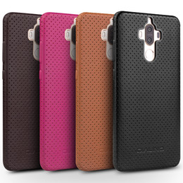 Wholesale Huawei Phone Covers - C65-1355 Case for Huawei Ascend Mate 9 Fashion Leather Phone Cover for Huawei Mate9 Pro Luxury Back Case for 5.9 5.5 inch