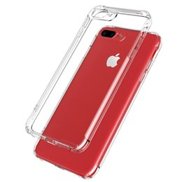 Wholesale Cover For Galaxy S Phone - Ultra thin Clear Transparent TPU Silicone Matte Back Cover Protection Rubber Phone Case For iphone 8 7 6s s Plus Samsung Galaxy S8 Plus Opp