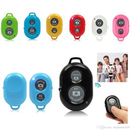 Wholesale Gopro Remote Control - Bluetooth Selfie Self-pole Remote Shutter Smart phones Remote Camera Control Wireless Self-timer Shutters for Selfie Monopod Sticks
