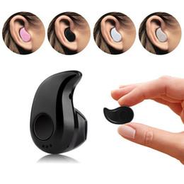 Wholesale Cell Phone Earpiece Ear Hooks - Bluetooth Earphone Mini Wireless in ear Earpiece Cordless Hands free Headphone Blutooth Stereo Auriculares Earbuds Headset Phone