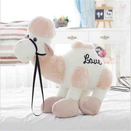 Wholesale Stuff Camel Toys - Big Size Cute Camel Plush Stuffed Toy Plush Camel Creative Toy Cute Toys for baby best gift