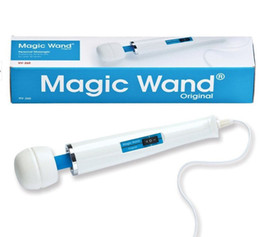Wholesale Wholesale Erotic Products - Wholesale 2 Modes Magic Wand Massager Powerful Magic AV Wand Body Massager Vibrators, Erotic Sex Products Adult Sex Toys