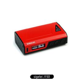 Wholesale Polymer Temperature - Vape Mods Sigelei J150 Box Mod Temperature Control First Internal Li-ion Polymer Battery Box Mod The Chip Same As Sigelei 213 100% Original