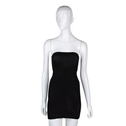 Wholesale Slim Shaper Dress - Wholesale-plus size Women Seamless shapers slimming Control Body Shaper Tube Dress shaper waist trimmer corset Shapewear bodysuit Sale