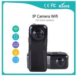 Wholesale Camara Ip Wifi - MD81S WiFi Camera Mini DV Wireless IP Camera HD Micro Hidden Cam Voice Video Recorder Mini Camcorder Spy Camara with retail box