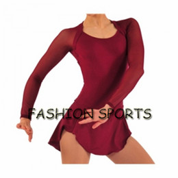 Wholesale Ice Skating Dresses For Girls - Custom Figure Ice Skating Dresses New Brand Skating Dress For Competition HB2919