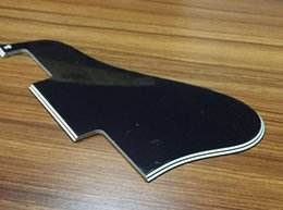 Wholesale Es Jazz Guitars - Free Shipping Jazz Archtop Guitar Pickguard Fits ES 335 , 5 Ply Black(CL096)