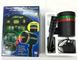 Wholesale Christmas Laser Lights Sale - 2016 hot sale Outdoor Garden Decoration Waterproof Laser Light Christmas Light