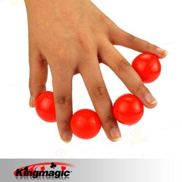 Wholesale Magic Props Rubber - Wholesale- One To Four Balls Rubber For Beginners or Kids Small Size Magic Tricks Magic Props