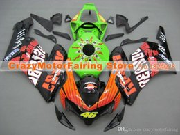 Wholesale Cbr Green - 3 Gifts+Cowl+Tank cover New ABS Injection Fairings set For HONDA CBR1000RR 2004 2005 CBR 1000 RR 04 05 hot sales repsol style 46