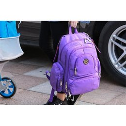 Wholesale Polka Dot Diaper Bags - Backpacks Famous Brand Bag Fashion Designer Backpacks Mummy Diaper Bag Mom Large Capacity Desinger Nursing Bag for Baby Care Backpack