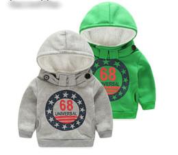 Wholesale Girls Coats Kids Hooded Sweater - Cartoon 6 8 Baby Boys Girls Kids Coat Hoodie Jacket Sweater Pullover Outwear