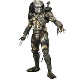 "Wholesale Predator Toys - NECA Predator Series 8 Classic Predator 25th Anniversary Jungle Hunter PVC Action Figure Model Toy 8""20cm"